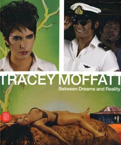 Copertina del catalogo della mostra Between Dreams and Reality di Tracey Moffatt