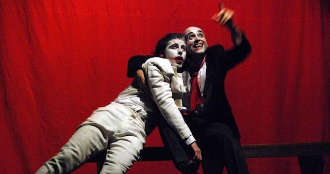 """Paolo Andreoni e Fabio Banfo in """"Faust"""" di Marlowe"""