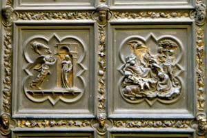 Le porte del battistero di Firenze - Le ante