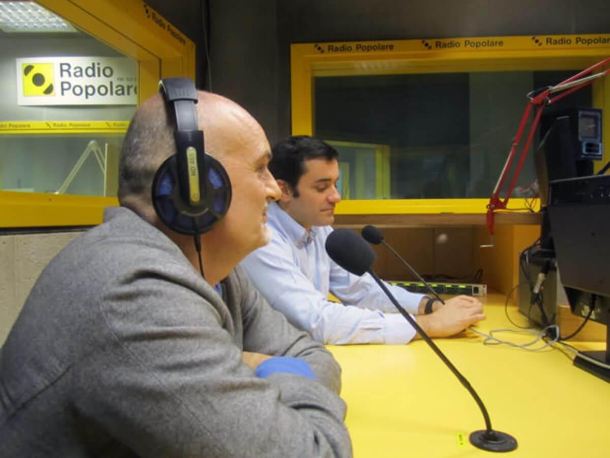 Claudio Agostoni, Autore presso Radio Popolare