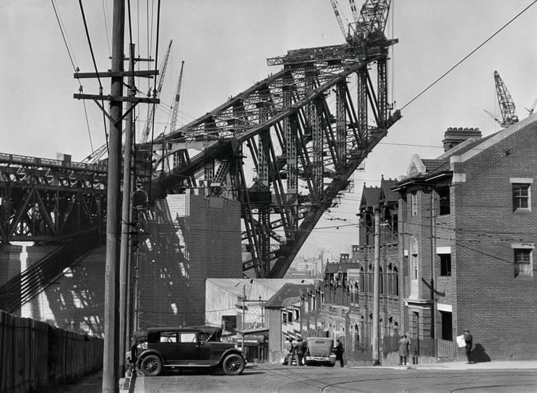 Sydney Harbour Bridge from the North Side, Australia, 1930