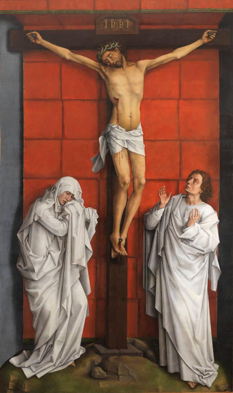 La Crocifissione - Rogier van der Weyden