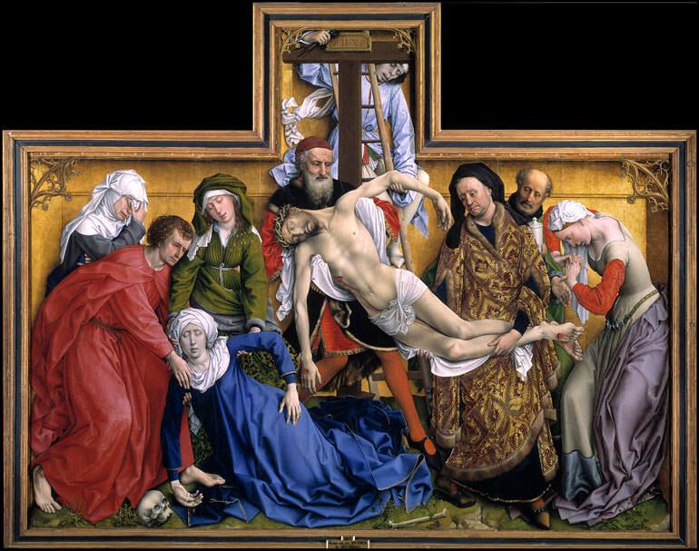 La deposizione della Croce Rogier van der Weyden