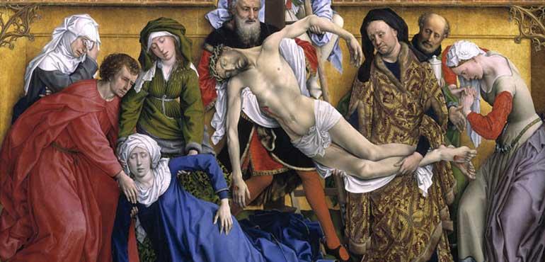 Deposizione di Rogier van der Weyden (part.)