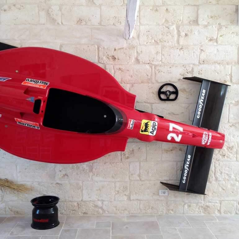 La Ferrari di Nigel Mansell