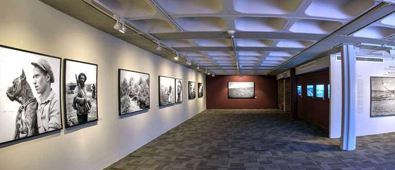 Seeing through exhibition in Tel Aviv
