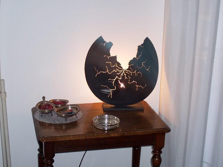 Lampada rotta di Bergottini