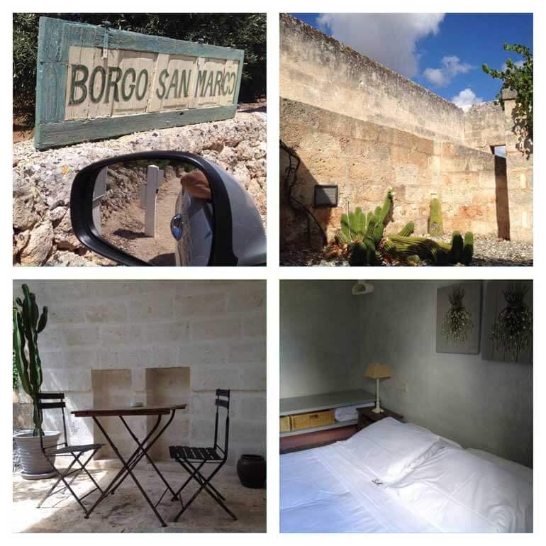 La masseria Borgo San Marco
