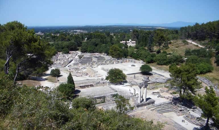 Le rovine di Glanum