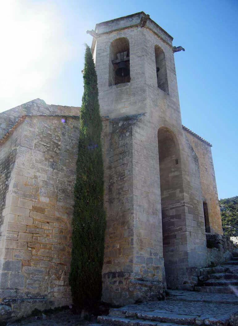 la chiesa di Oppède le Vieux