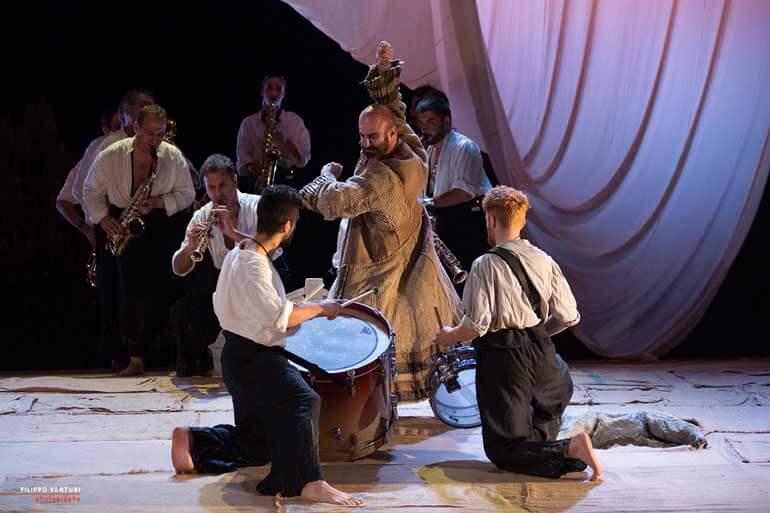 Sebastiano Lo Monaco in L'Ulisse