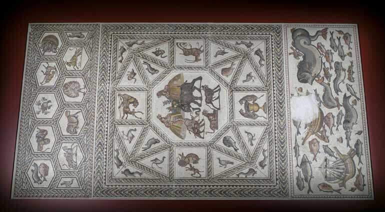 Il Mosaico di Lod esposto alla Fondazione Cini di Venezia