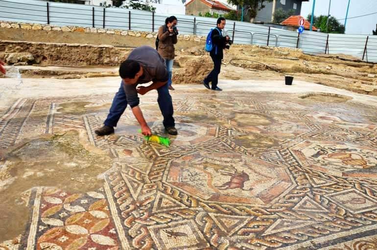 Il secondo mosaico rinvenuto nella città israeliana di Lod