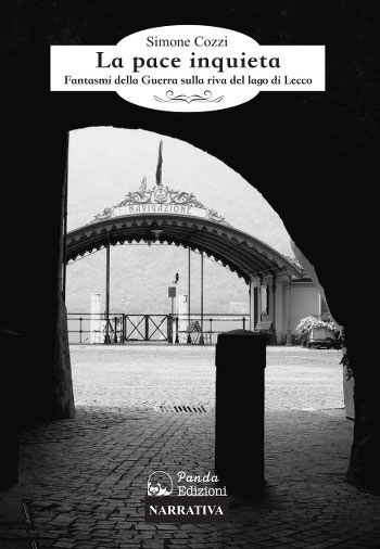 """La copertina del romanzo """"La pace inquieta"""" di Simone Cozzi"""
