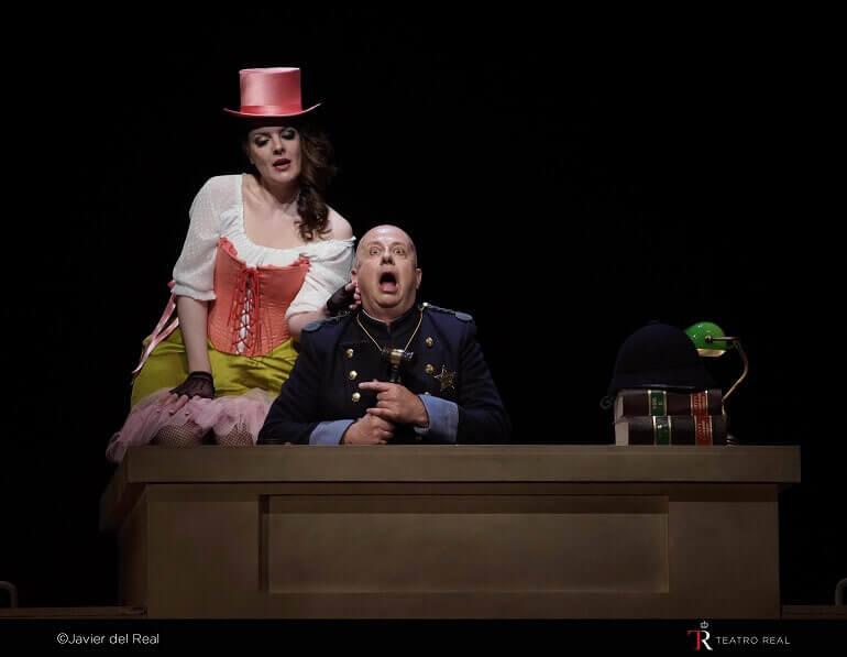 Un momento dell'opera Das Liebesverbot di Wagner