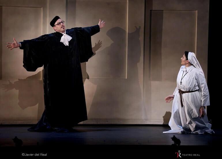 Un momento del Das Liebesverbot di Wagner a Madrid