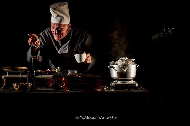 "Luca Radaelli nella cucina del ""Macbeth"""