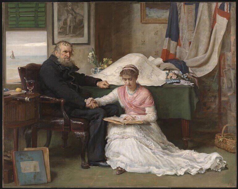 The North-West Passage, di Sir John Everett Millais