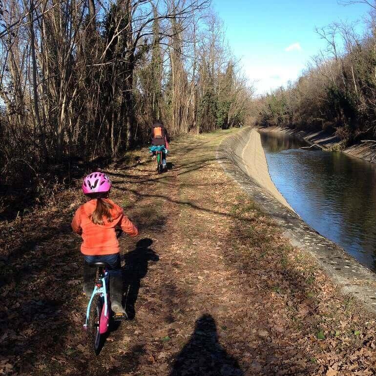 In bici a Tornavento