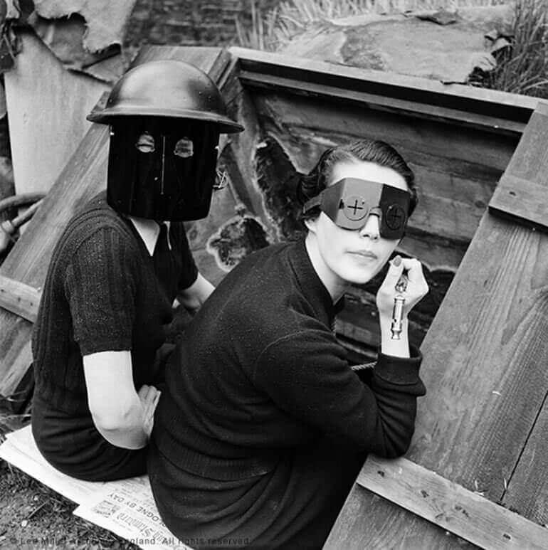 Lee Miller, Fire Masks