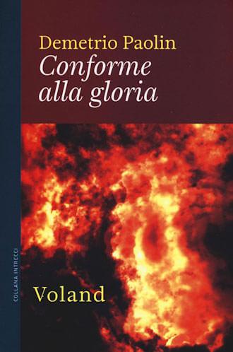 La copertina del romanzo Conforme alla gloria di Demetrio Paolin