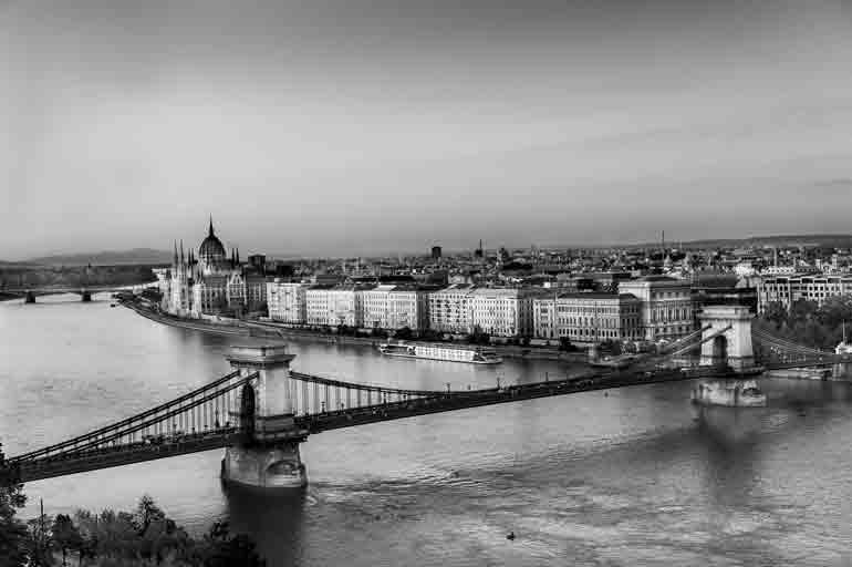 Budapest e il Danubio in una fotografia di Paco Gonzalez San Agustin