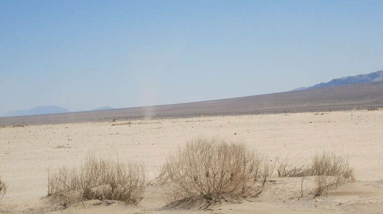 Il deserto della Death Valley