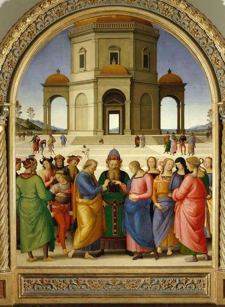 Lo Sposalizio della Vergine del Perugino
