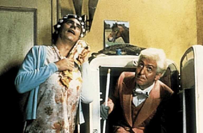 """Una scena del film """"Il senso della vita"""" dei Monty Python"""