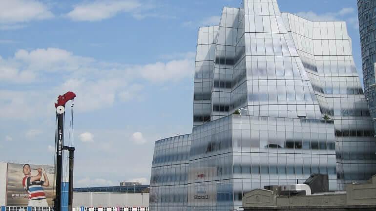 un grattacielo di New York