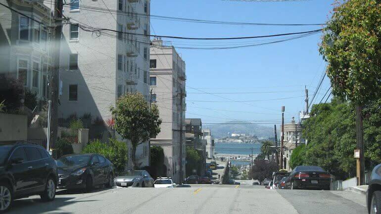 Una strada di San Francisco