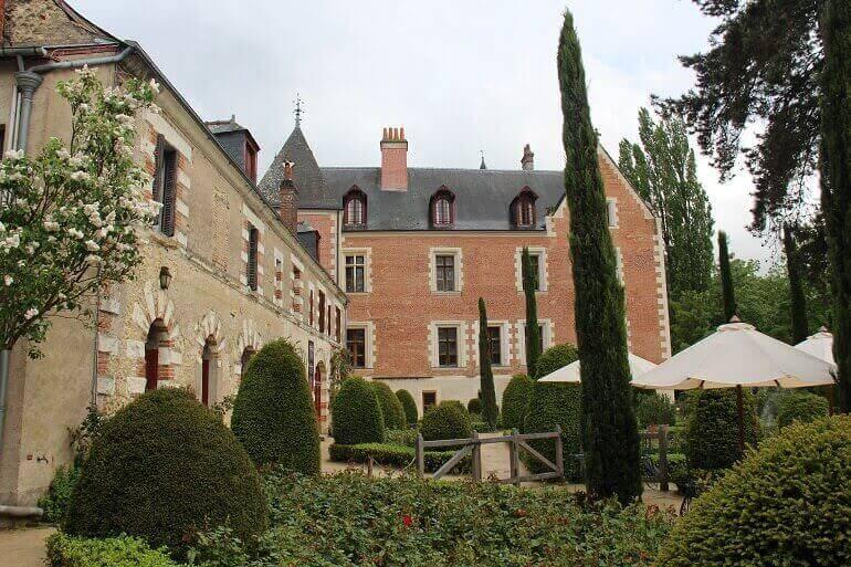 Il Castello di Clos Lucé ad Amboise