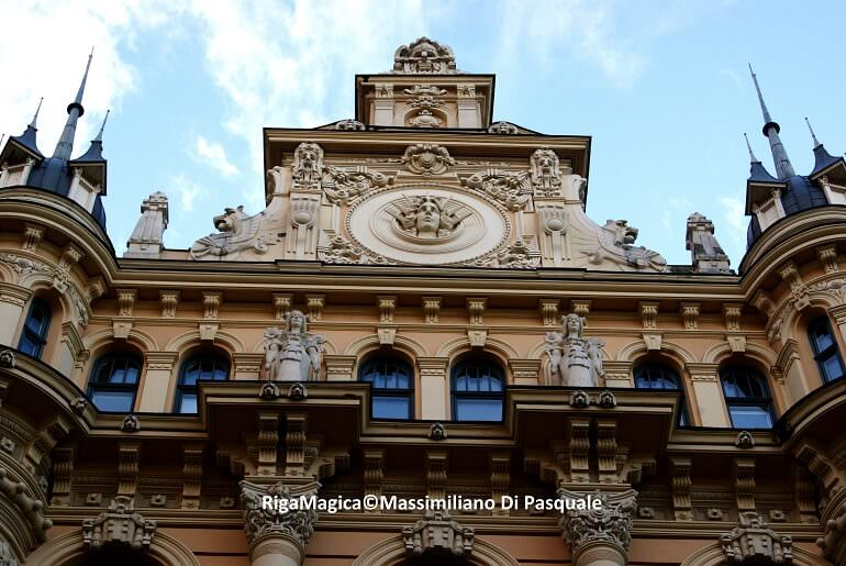 Riga, Alberta Iela. Foto di Massimiliano Di Pasquale