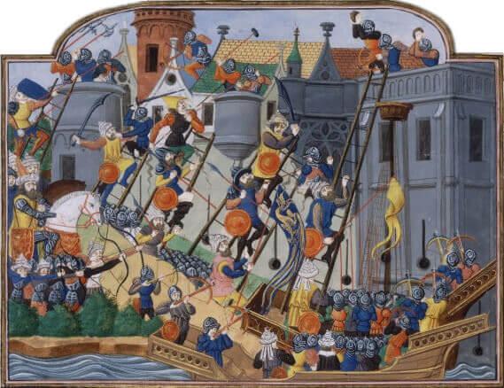 l'assedio di Costantinopoli nel 1453