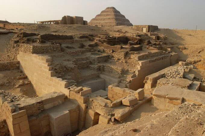 gli scavi della mastaba di Akhethetep a Saqqara