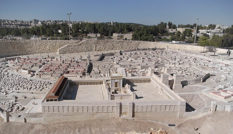 Modellino di Gerusalemme