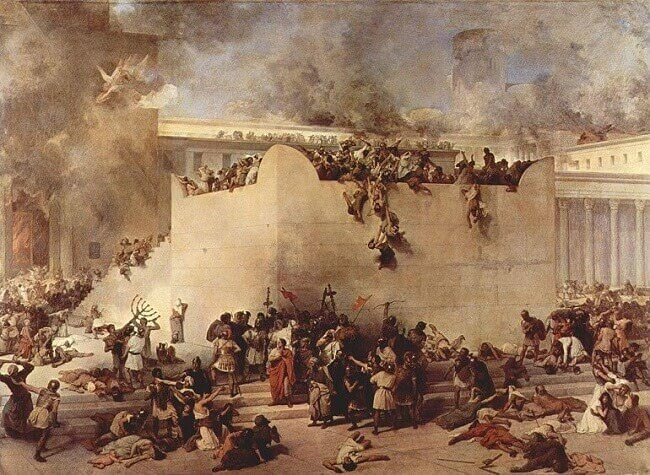 Francesco Hayez, La distruzione del Tempio di Gerusalemme