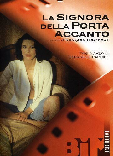 """Cover del DVD del film """"La signora della porta accanto"""" di François Truffaut"""