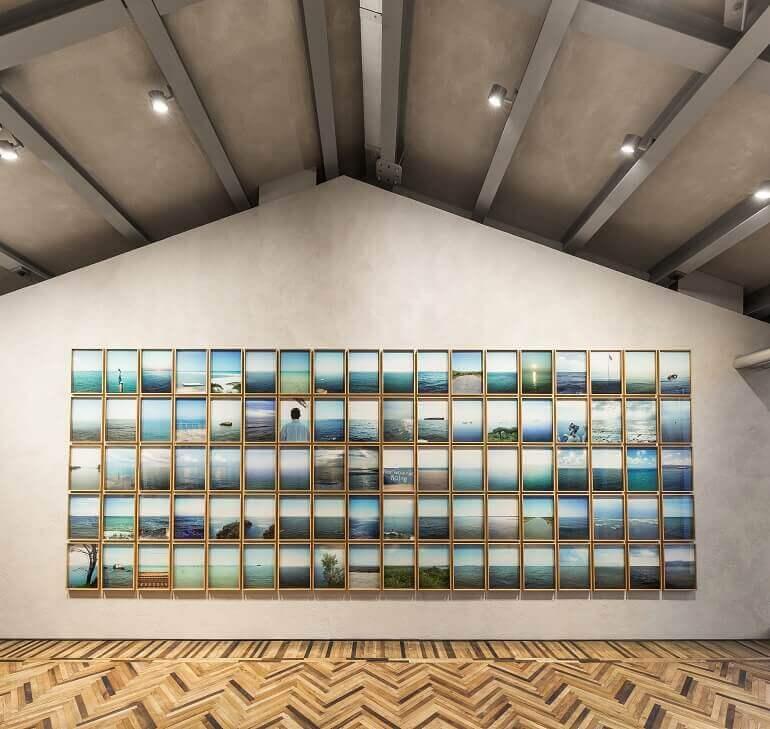 Antonio Rovaldi, Orizzonte in Italia in mostra all'Osservatorio della Fondazione Prada di Milano