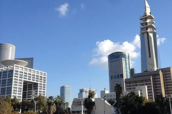 grattacieli a Tel Aviv