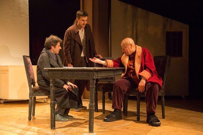 """Francesco Brandi, Sebastiano Bottari e Massimo Loreto in """"Delitto e castigo"""""""