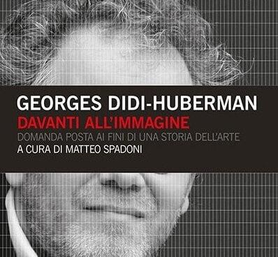 """copertina del libro """"Davanti all'immagine"""" di Georges Didi-Huberman (particolare)"""