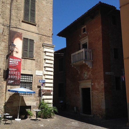 Palazzo Mosca a Pesaro