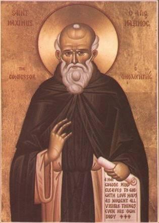 San Massimo Confessore in un'icona