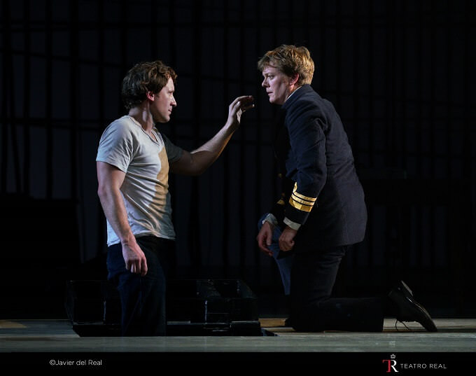 "Jacques Imbrailo e Toby Spence in ""Billy Budd"" al Teatro Real di Madrid"