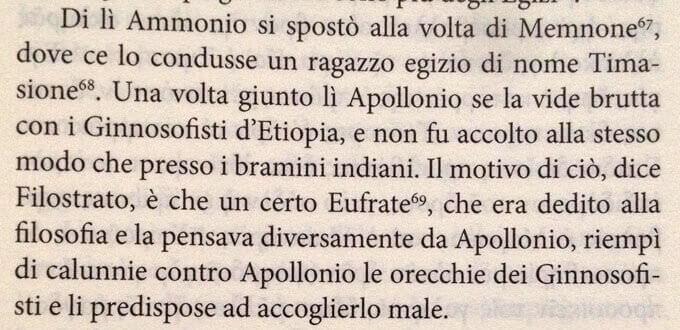 un brano della Biblioteca di Fozio dedicato ad Apollonio