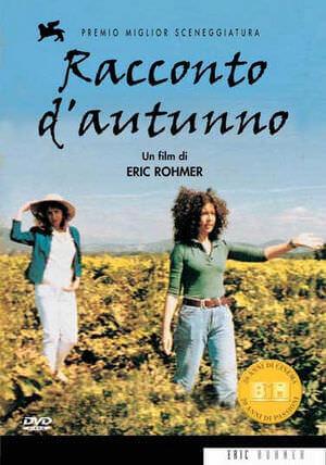 """la locandina del film """"Racconto d'autunno"""" di Eric Rohmer"""