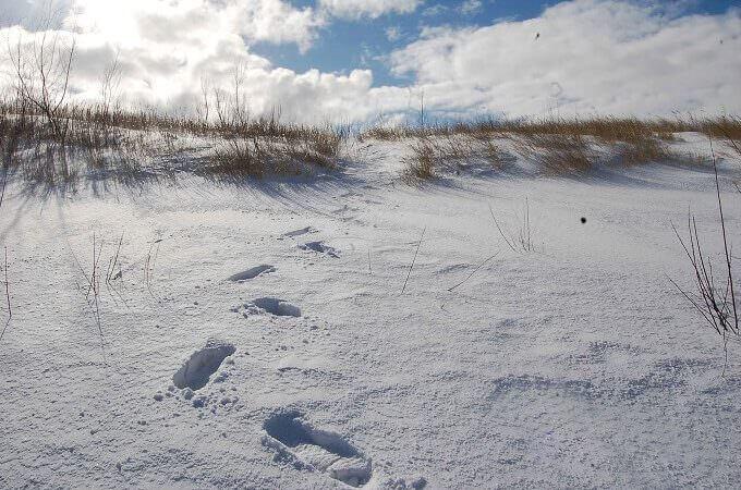 Una spiaggia della Pomerania