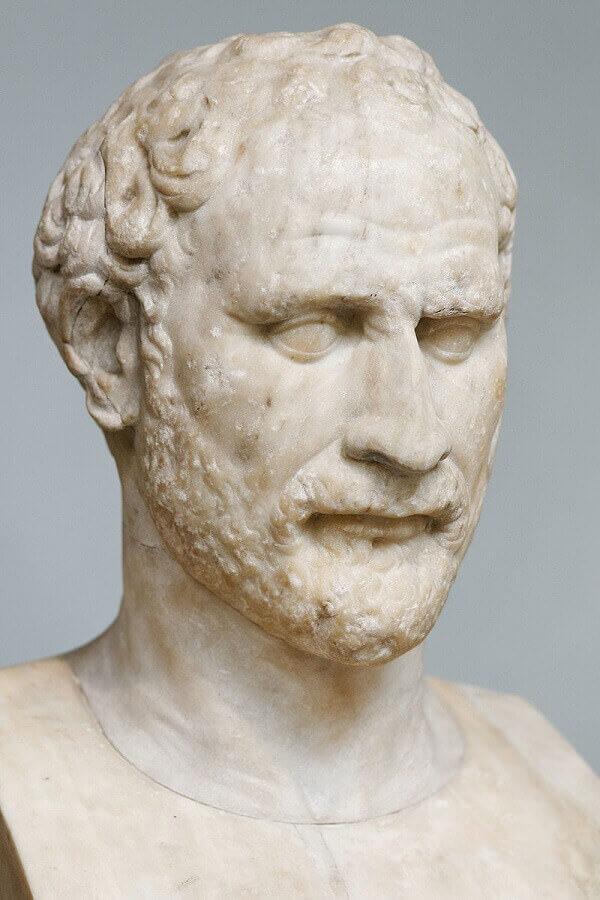 busto di Demostene conservato al British Museum di Londra