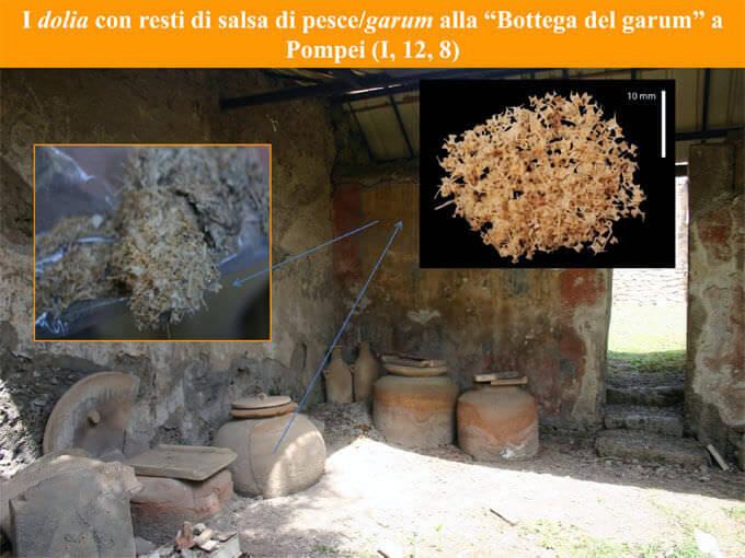 La Bottega del Garum a Pompei